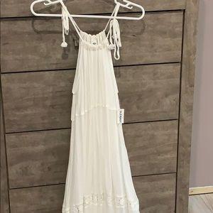 Old Navy White Maxi Style Dress